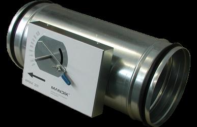 12.3 Volumenstromregler rund, konstant – RPM-K