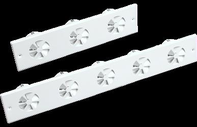 10.10 Lamellendurchlass mit feststehenden Lamellen linear – VAPM-L