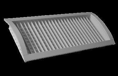 13.4 Rundrohrlüftungsgitter mit verstellbaren Lamellen – VNKM